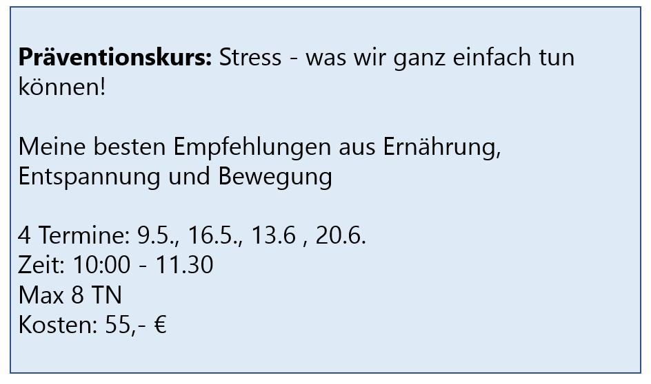 stressprävention wachtberg